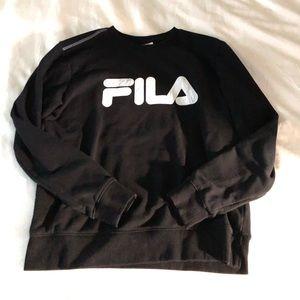 FILA crew neck sweater medium